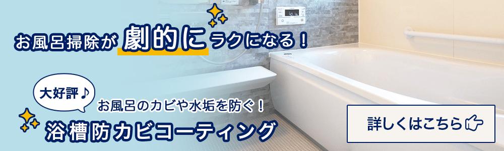 浴槽防カビコーティング