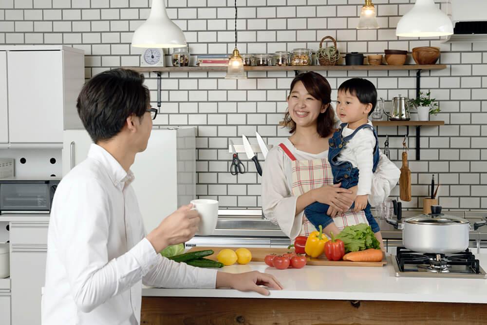 キッチンリフォームイメージ